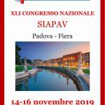 XLI CONGRESSO SIAPAV (Società Italiana di Angiologia e Patologia Vascolare
